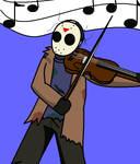 Jason and his violin