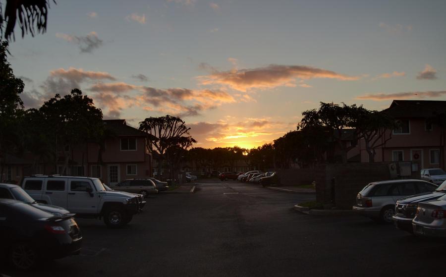 Kapolei Sunrise, 2011.11.23 by Dancing-Treefrog