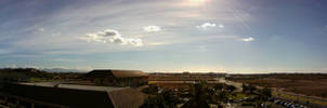 Morning Bank of Hawaii panorama 2013.1.15