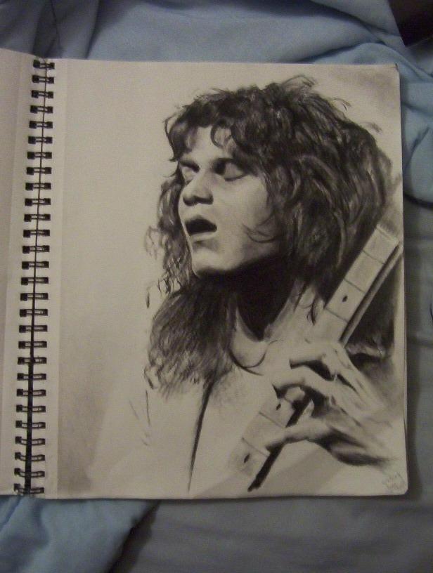 Eddie Van Halen by Jaymz1525