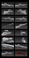 Contention: Exohuman Slicer Sniper Rifle