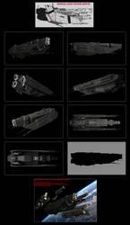 Contention: UES Aelius-class light cruiser WIP