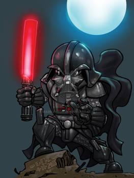 Darth Vader colored