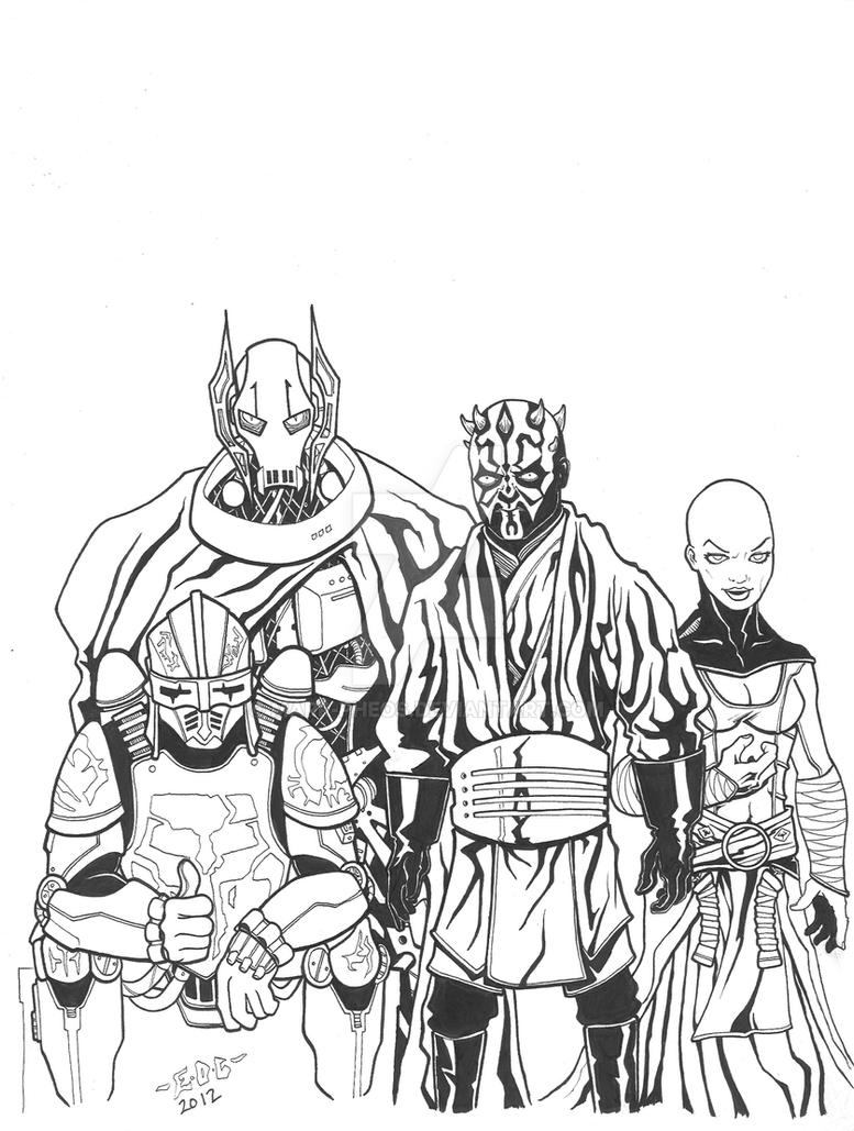 High quality images for general grievous coloring pages www ...