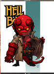 Lil Dude Hellboy COLORED
