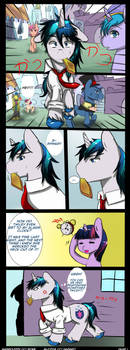 Tsundere days Page 1