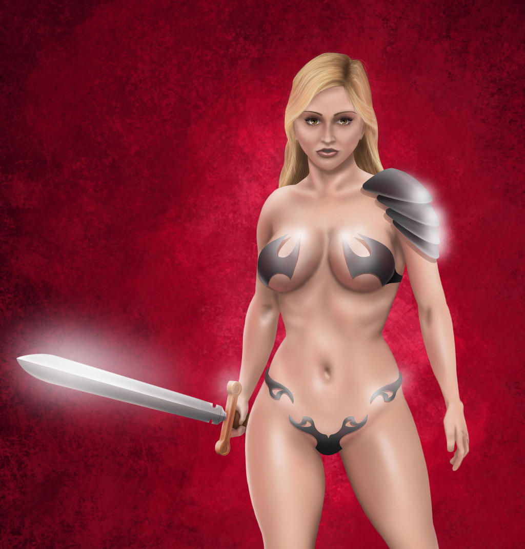 Hot girl in armor porn xxx movies