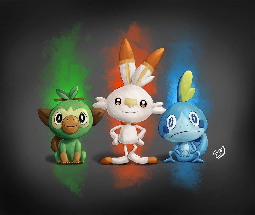 Pokemon Sword And Shield Starter Pokemon Finished By