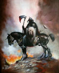 Ode to Frazetta, Death Dealer