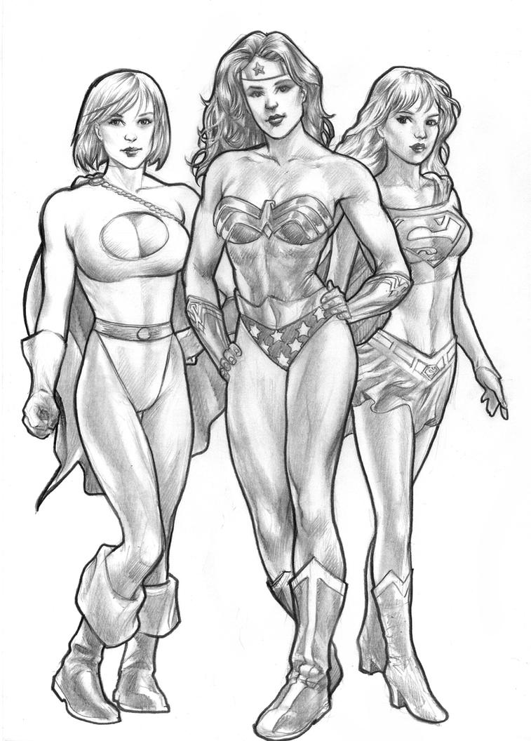 DC Powerpuff girls by huy-truong