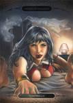 Vampirella Bedtime by huy-truong