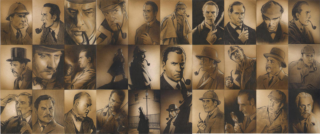 Sherlock sketchcards by huy-truong