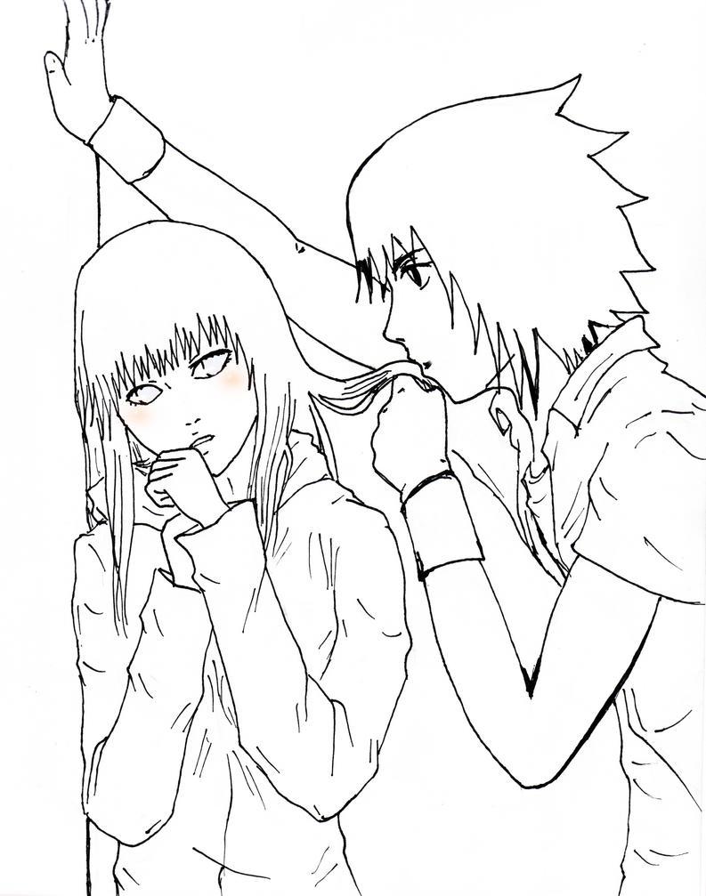 Sasuhina 19 HinataYSasuke de Road To Ninja by NellNixi