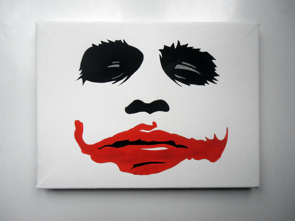 Joker stencil by Adamstar71 on DeviantArt