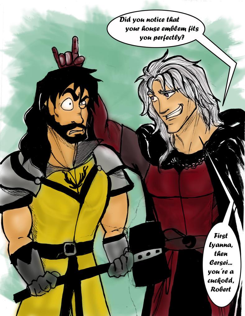 Rhaegar trolling time by silvarablack