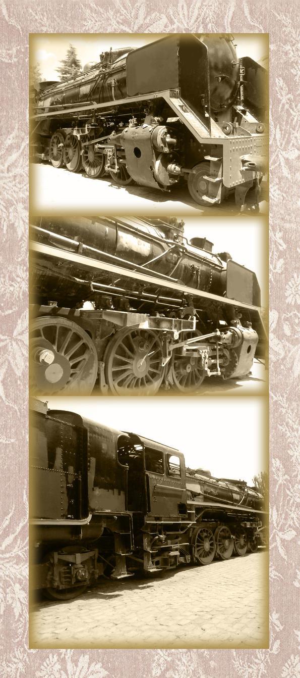 Steam Train by silvarablack