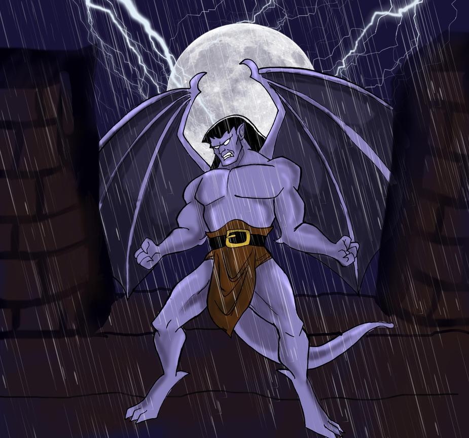 Goliath Gargoyles by silvarablack