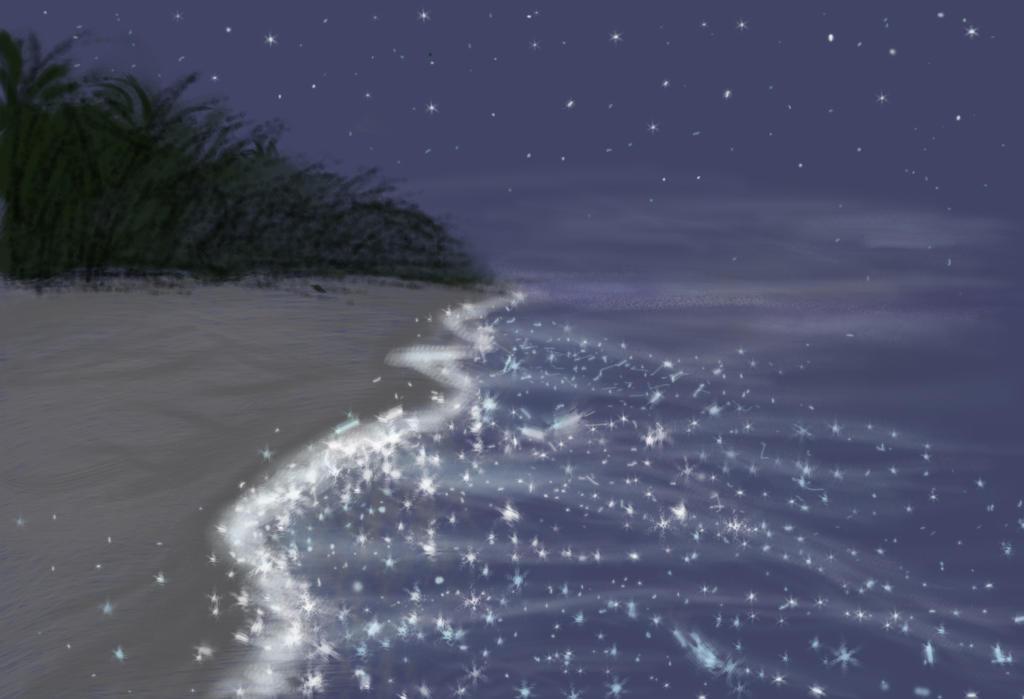 mar de estrellas by silvarablack