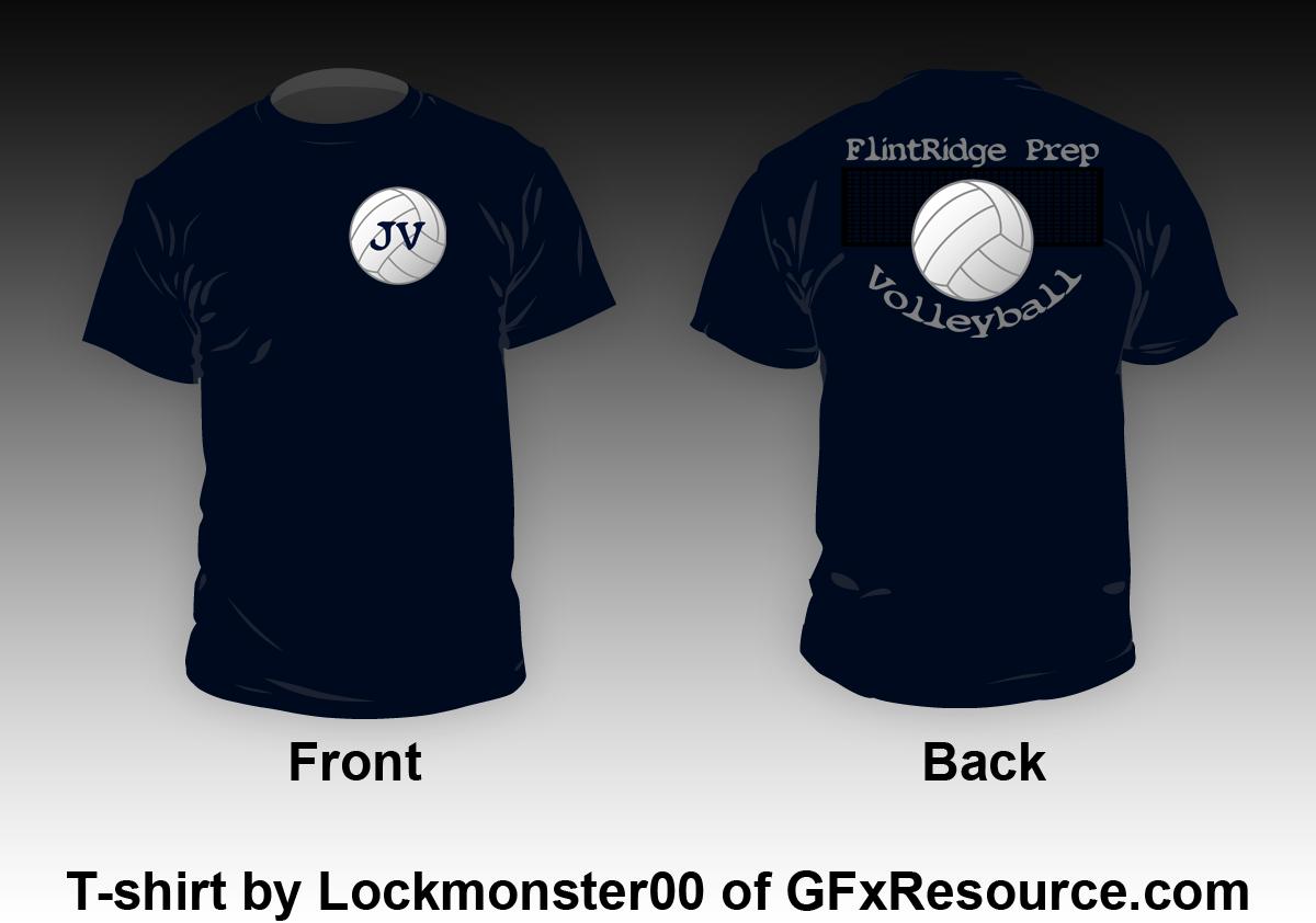 T shirt design volleyball -  Flintridge Prep Jv Volleyball T Shirt Design By Lockmonster00