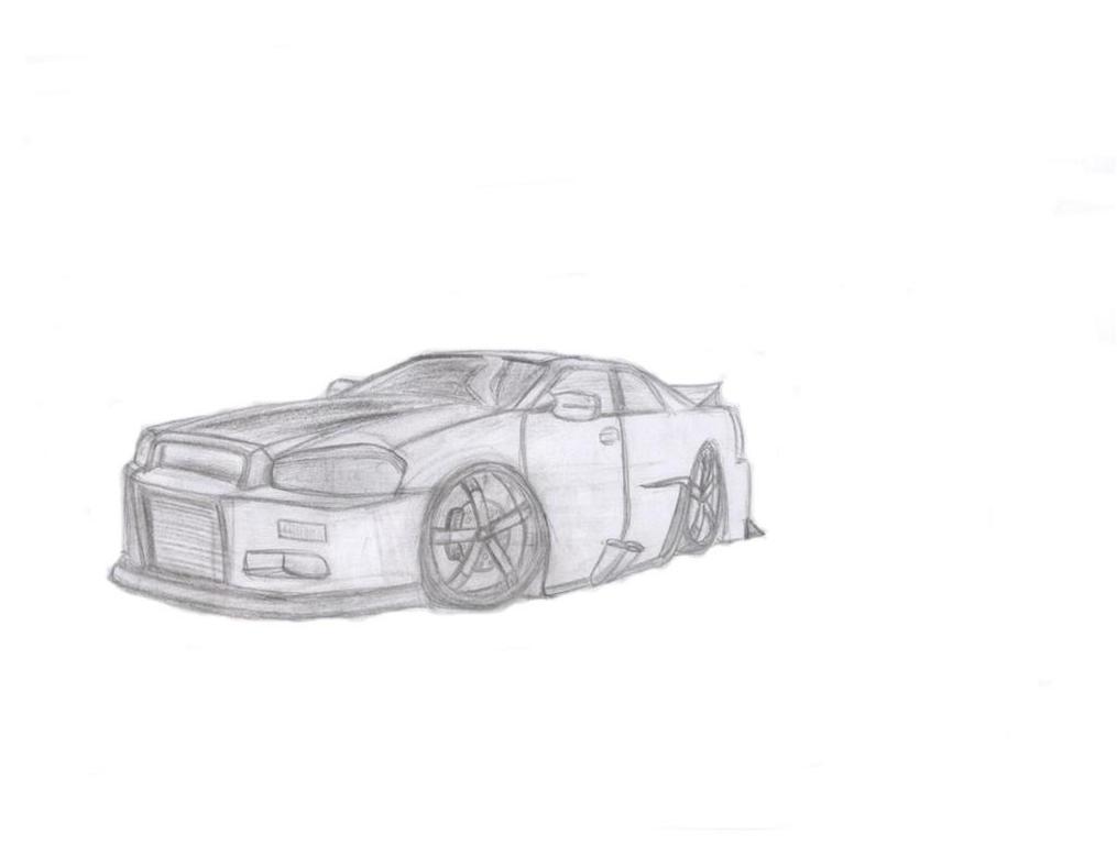Cartoon Nissan Skyline Nissan Skyline Semi Cartoon by