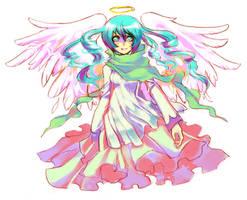 Angel by Arlmuffin