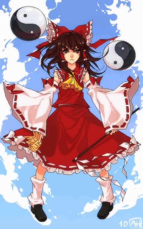 Shrine Maiden by Arlmuffin
