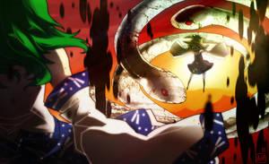 Battle Above Gensokyo by Arlmuffin