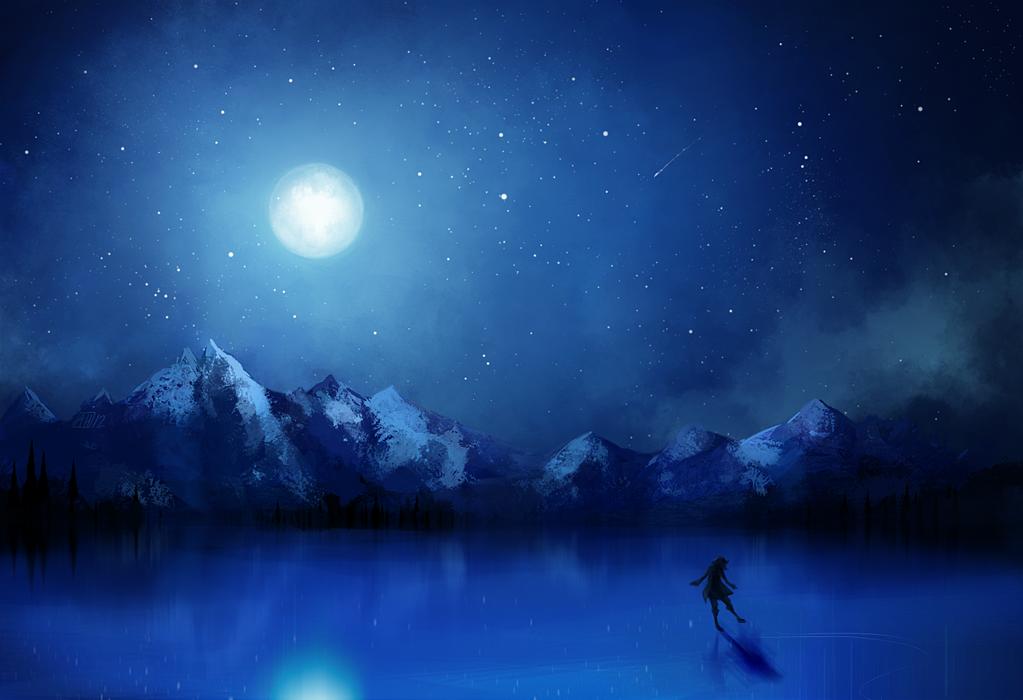 winter night by Arlmuffin on DeviantArt