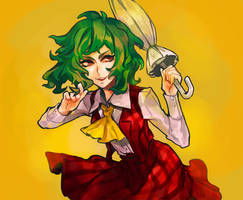 Yuuka by Arlmuffin