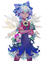 Cirno18 by Arlmuffin