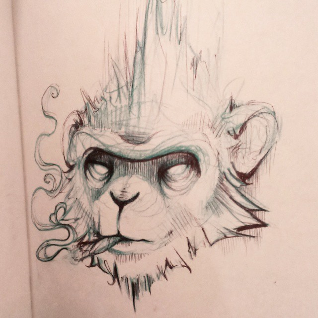 Concept Bad concept bad monkey by amymiu on deviantart