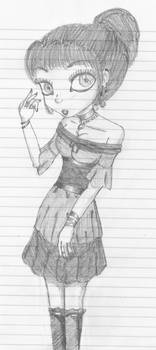 Goth Girl Sorta