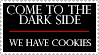 dark side have cookies... by princess-femi-stamps