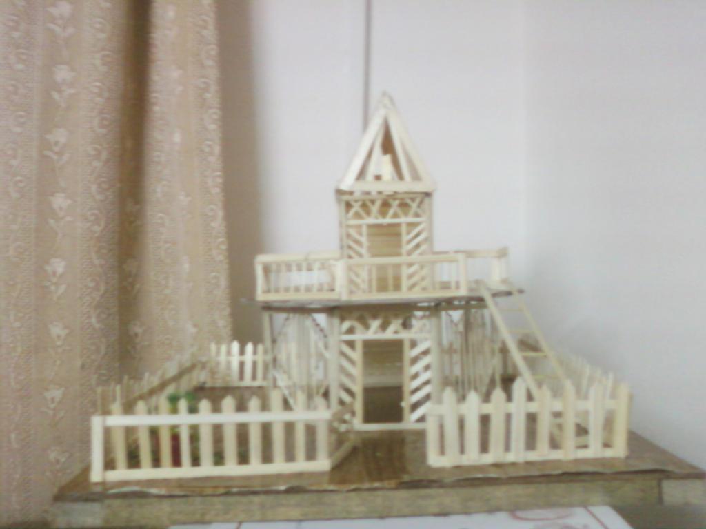 Icecream Stick House By Prj271194