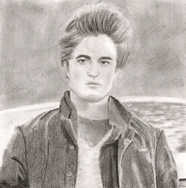 Edward Cullen Drawing By Goldencloud On Deviantart