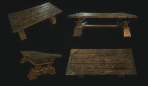 Alchemy Table - 3D game model