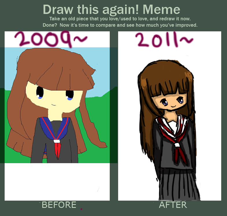 Draw This Again Meme By The Emo Goth On Deviantart