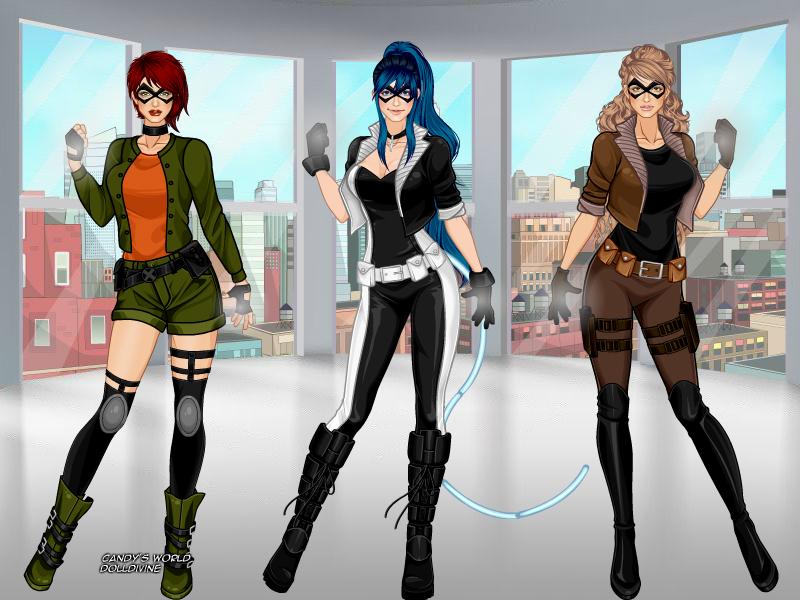X-Girl-Doll-Divine- las chicas de la Hermadad by ania82