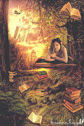 Books Are A Uniquely Portable Magic by BriannaHupp