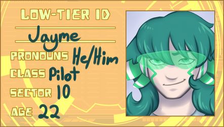Jayme [Aerolin ID] by erratictransparency