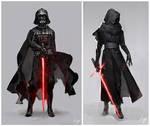 Darth Vader and Kylo Ren