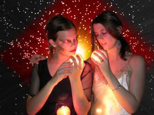 Goddesses of Light and Night
