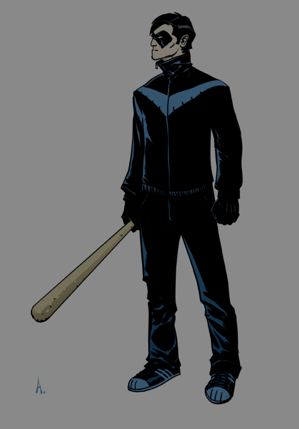 Nightwing Casuals By Trabbold On DeviantArt