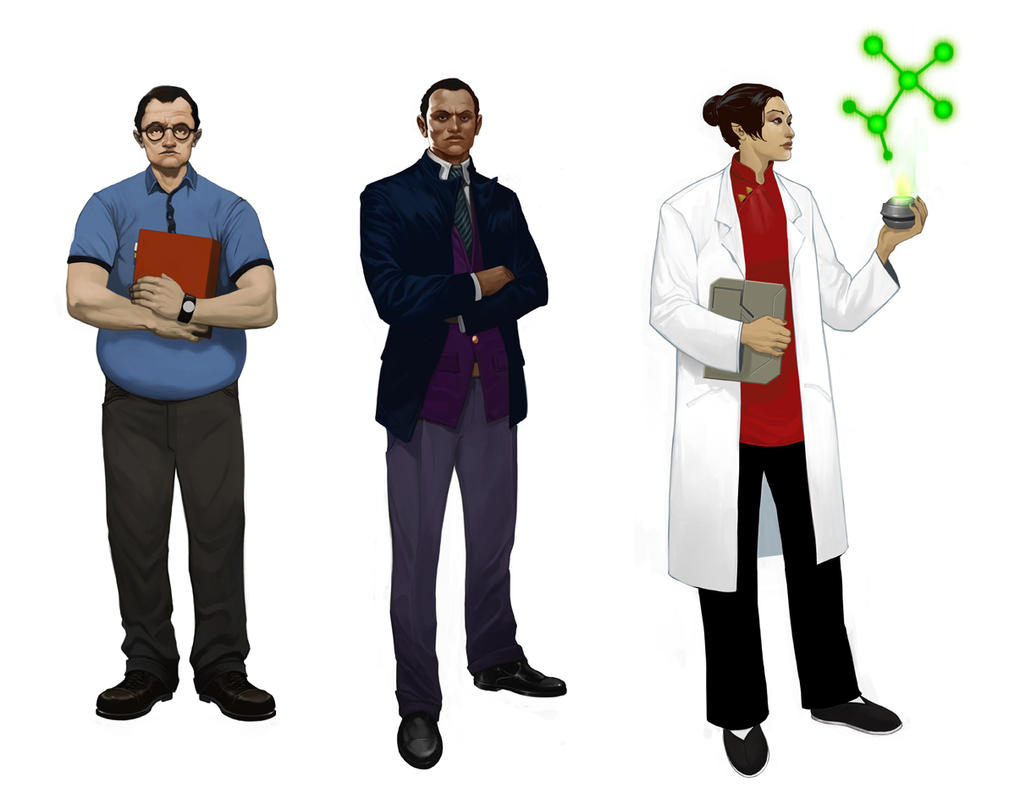 Firefly characters by Trabbold
