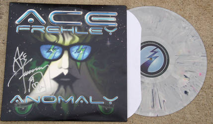 Ace Frehley Signed Anomaly LP by AceWanzer