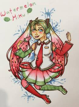 Watermelon Miku!