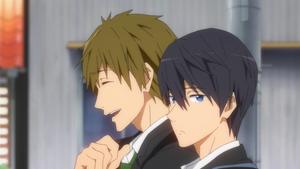 FREE! anime Haruka and Makoto