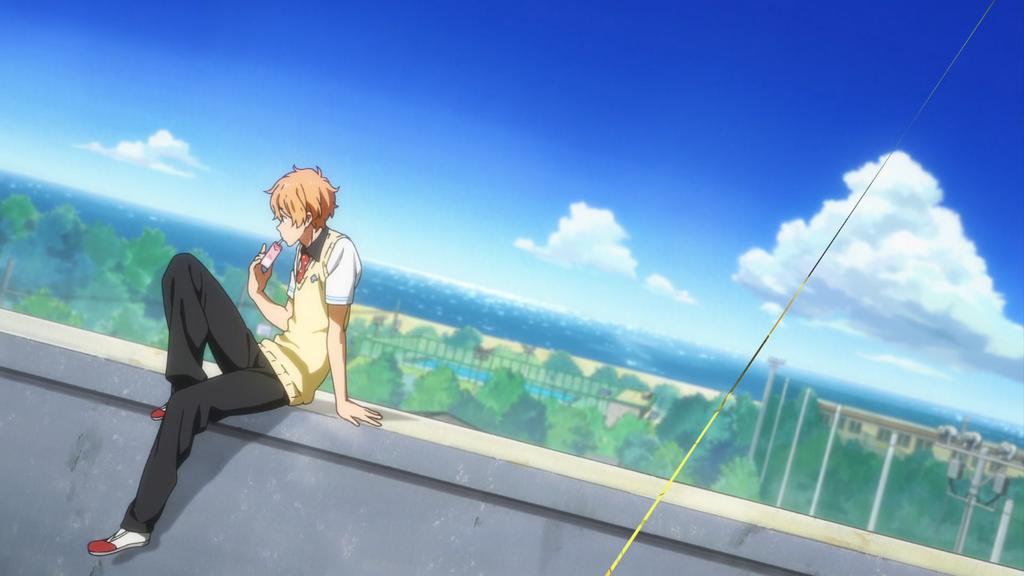 FREE! anime Nagisa Hazuki by TisifoneCosplay07