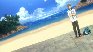 FREE! anime Makoto Tachibana