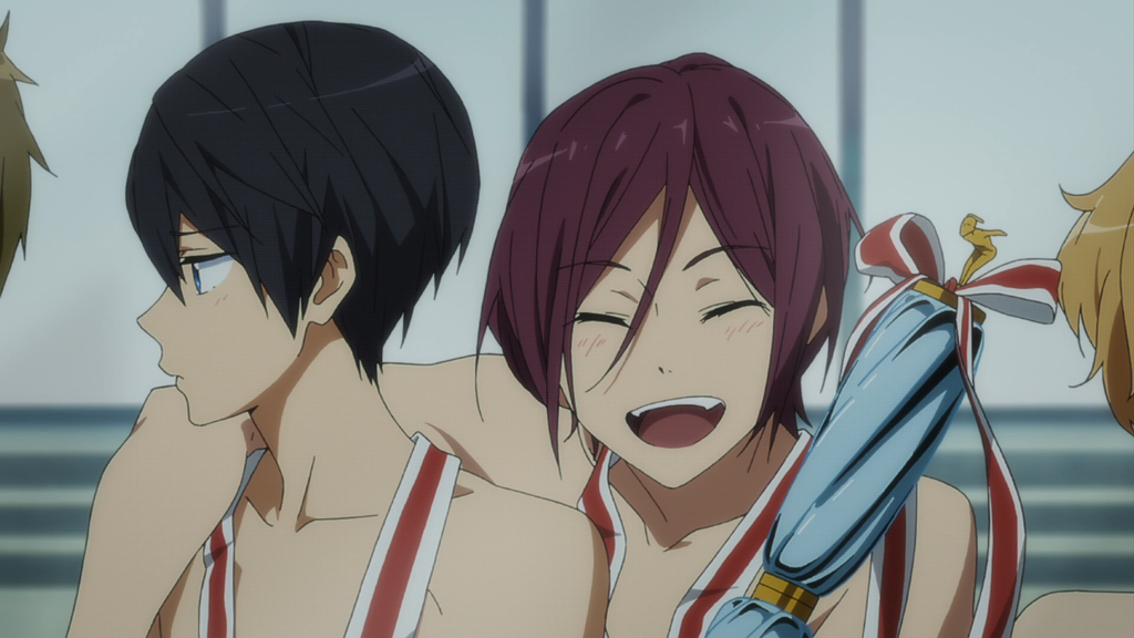 FREE! anime  Haruka and Rin by TisifoneCosplay07
